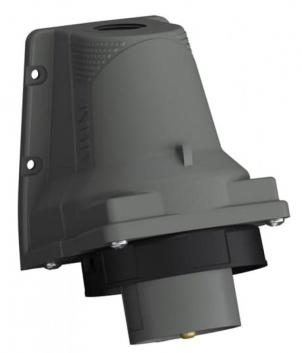 Вилка для монтажа на поверхность Easy&Safe 432EBS6W 32A 3P+N+E IP67 7ч