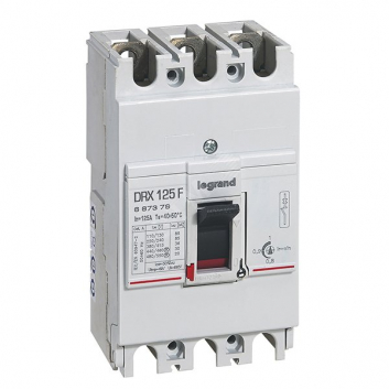 Выключатель автоматический трехполюсный DRX 125 63А 25кА
