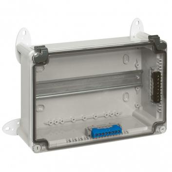 Коробка промышленная 360х270х124 IP55 прозрачная крышка