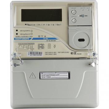 Счетчик электроэнергии CE303 S31 746-JPVZ(12) трехфазный многотарифный 5(100) класс точности 1.0/1.0 Щ ЖКИ оптопорт 101004003009236-TP110
