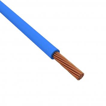 Провод силовой ПУГВ 1х25 голубой многопроволочный