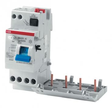 Блок дифференциального тока 2 модуля DDA204 A-40/0.3