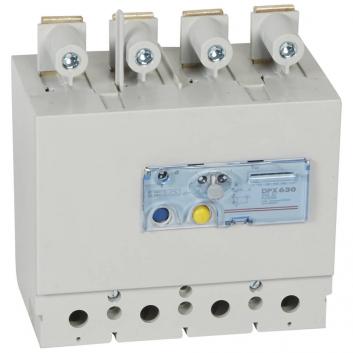 Блок дифференциального тока DPX250 4п/250А нижний