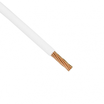 Провод силовой ПУГВ 1х25 белый многопроволочный
